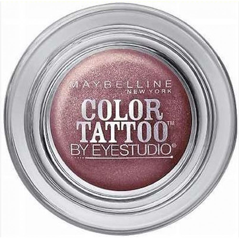 Maybelline color tattoo 24 hr eyeshadow 90 vintage plum for Color tattoo maybelline