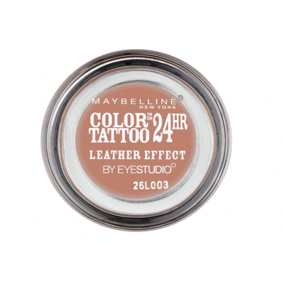 Maybelline eye studio color tattoo 24 hour cream eyeshadow for Maybelline color tattoo gel eyeshadow