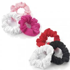 3 Piece Elasticated Hair Scrunchie Hair Accessory Set