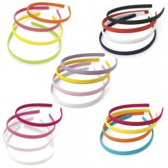 4 Pack Thin 10mm Headband Alice Band Hair Band Toothless