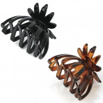 Hair Claw Clip Clamp Hair Accessory - 7cm - Black Or Brown