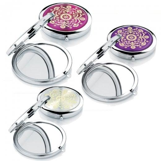 Amber Jewellery Handbag Compact Mirror