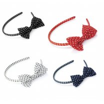 Polka Dot Bow Headband Alice Band Hairband Hair Accessory