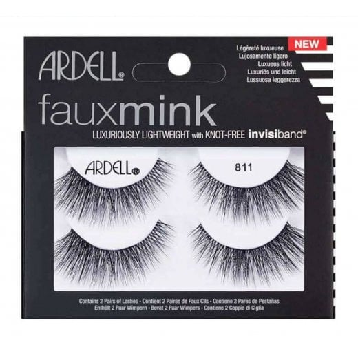 Ardell Faux Mink False Lashes Twin Pack - 811 Black