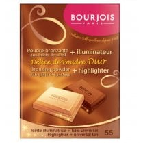 Bourjois Delice de Poudre Duo Bronzing Powder & Highlighter - 55