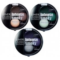 Bourjois Intense Smoky Trio Eyeshadow