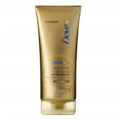 Dove DermaSpa Summer Revived Body Lotion with Shimmer - Medium to Dark Skin