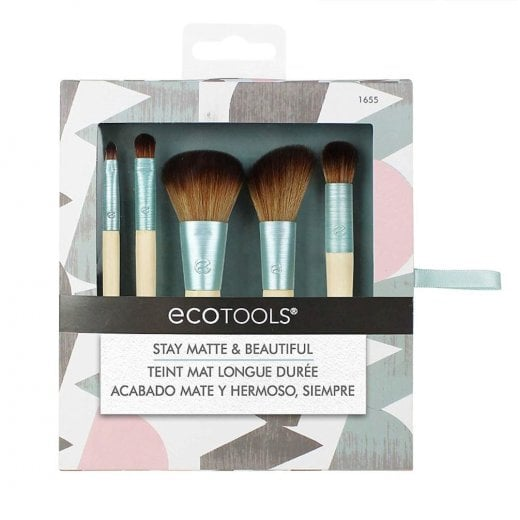 Eco Tools Stay Matte & Beautiful 5 Piece Brush Collection - 1655