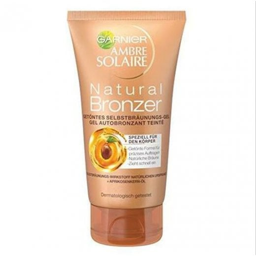 Garnier Amber Solar Natural Bronzer Self Tanning Gel