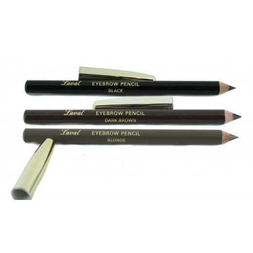 Laval Eye Brow Pencil - Black, Blonde Or Brown