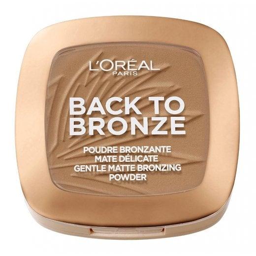 L'Oreal Back To Bronze Matte Bronzing Powder - 02 Sunkiss