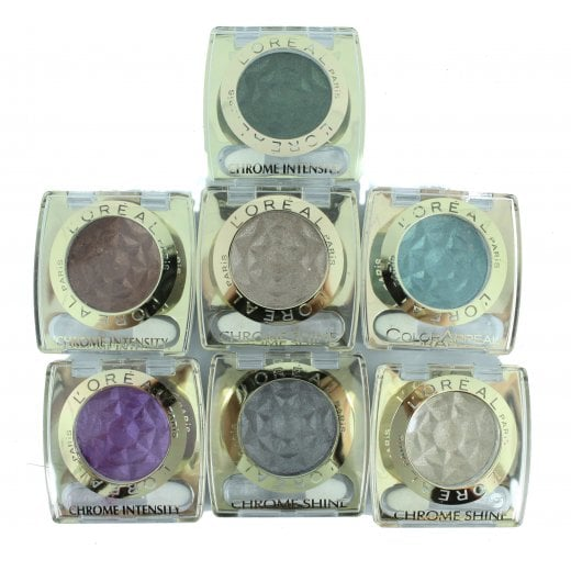 L'Oreal Color Appeal and Chrome Intensity Eyeshadow