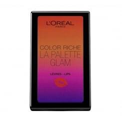 L'Oreal Color Riche La Palette Glam Lip Palette