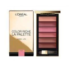 L'Oreal Color Riche La Palette Lip Palette - Nude