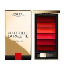 L'Oreal Color Riche La Palette Lip Palette - Red