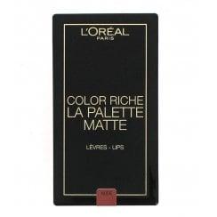 L'Oreal Color Riche La Palette Matte Lip Palette - Nude