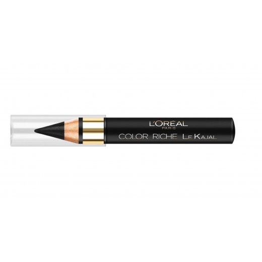 L'Oreal Color Riche Le Kajal Eye Pencil - 501 Black