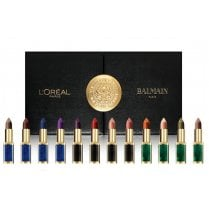 L'Oreal Color Riche Lipstick Balmain Limited Edition Gift Set