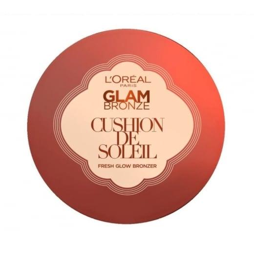 L'Oreal Glam Bronze Cushion De Soleil Fresh Glow Bronzer