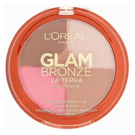 L'Oreal Glam Bronze Healthy Glow Palette - 01 Light Laguna