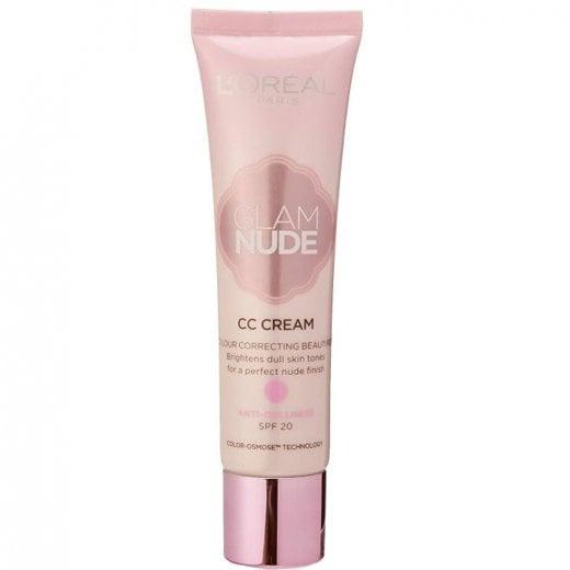 L'Oreal Glam Nude CC Cream - Anti-Dullness