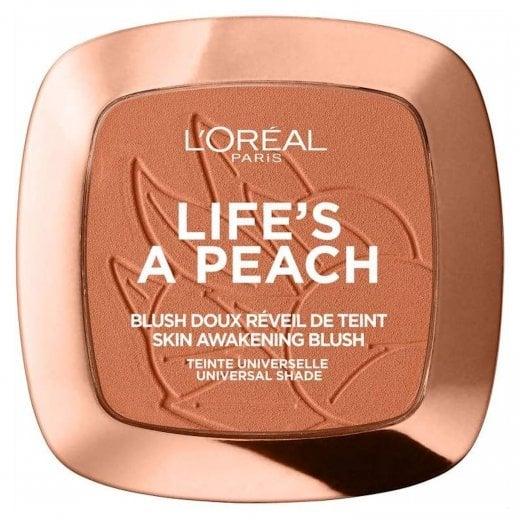 L'Oreal Life's A Peach Blusher - 01 Peach Addict