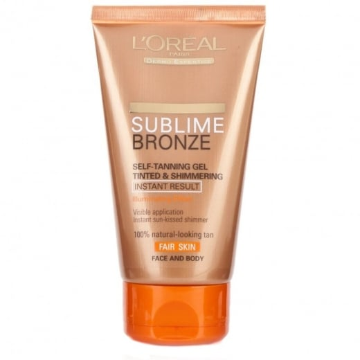 loreal sublime bronze gel