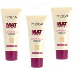 L'Oreal Mat' Magique Mattifying Foundation