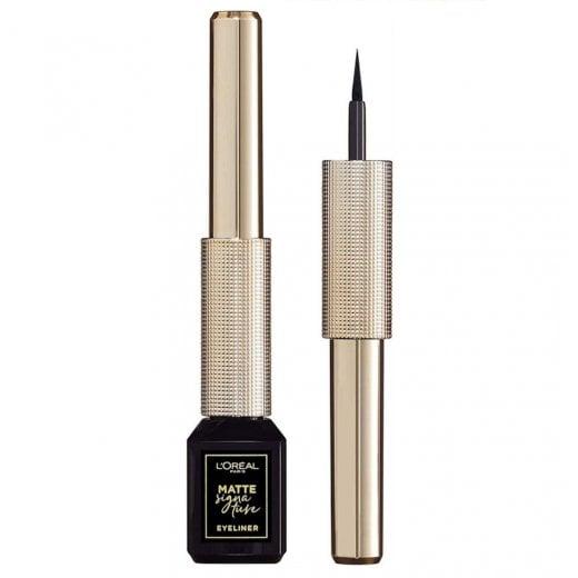 L'Oreal Matte Signature Liquid Eyeliner - 01 Black Signature