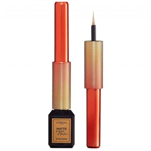 L'Oreal Matte Signature Liquid Eyeliner - 10 Or Signature