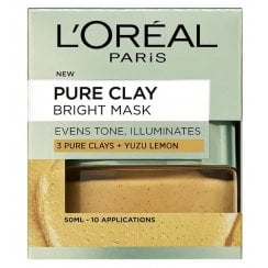 L'Oreal Pure Clay Bright Mask - Yuzu Lemon