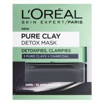 L'Oreal Pure Clay Detox Mask - Charcoal