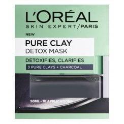 L'Oreal Pure Clay Detox Mask - Charcoal