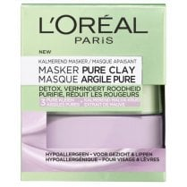 L'Oreal Pure Clay Soothing Mask - Mallow Flower Extract