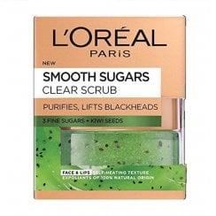 L'Oreal Smooth Sugars Clear Scrub - Kiwi Seeds