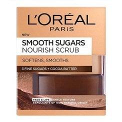 L'Oreal Smooth Sugars Nourish Scrub - Cocoa Butter