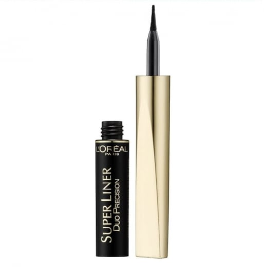 L'Oreal Super Liner Duo Precision Eyeliner - Extra Black
