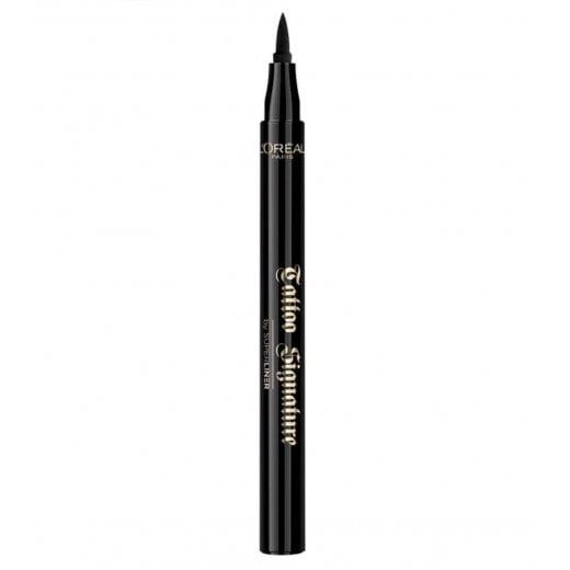 L'Oreal Super Liner Tattoo Signature Eyeliner - Extra Black