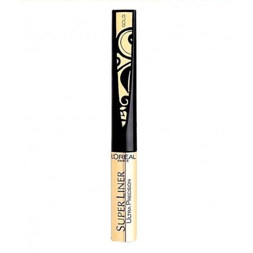 L'Oreal Super Liner Ultra Precision Eye Liner - Gold