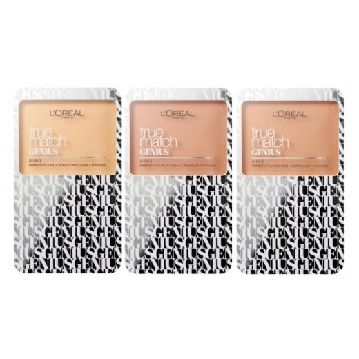 L'Oreal True Match Genius 4-in-1 Palette