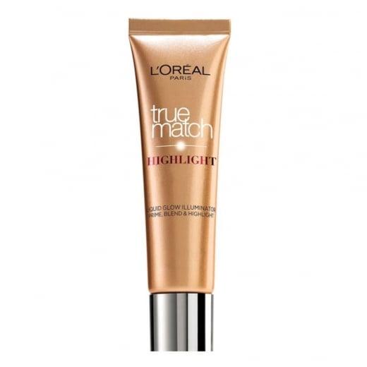 L'Oreal True Match Liquid Highlighter Cream - 101 D/W Golden Glow