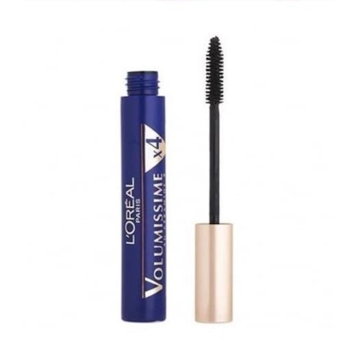 L'Oreal Volumissime Extra Volume x4 Mascara - Black Waterproof