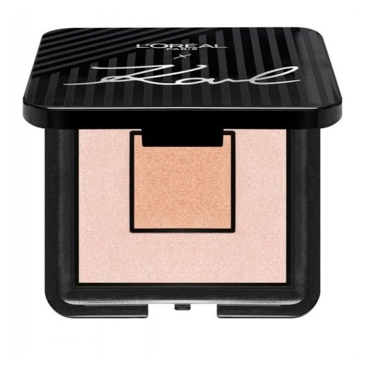 L'Oreal X Karl Lagerfeld Highlighting Palette