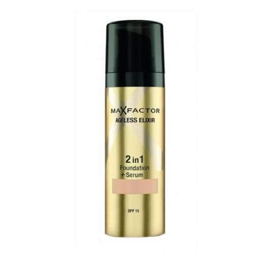 max factor ageless elixir 2 in 1 foundation golden
