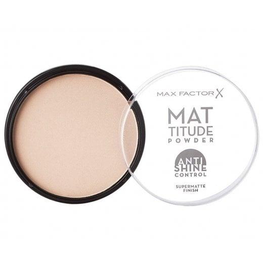 Max Factor Mattitude Compact Powder - 001 Ivory