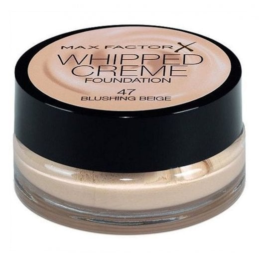 Max Factor Whipped Creme Foundation - 47 Blushing Beige