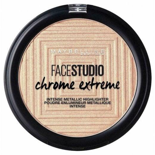 Maybelline Chrome Extreme Metallic Highlighter - 300 Sandstone Shimmer