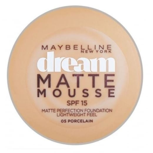 Maybelline Dream Matte Mousse Foundation - 05 Porcelain