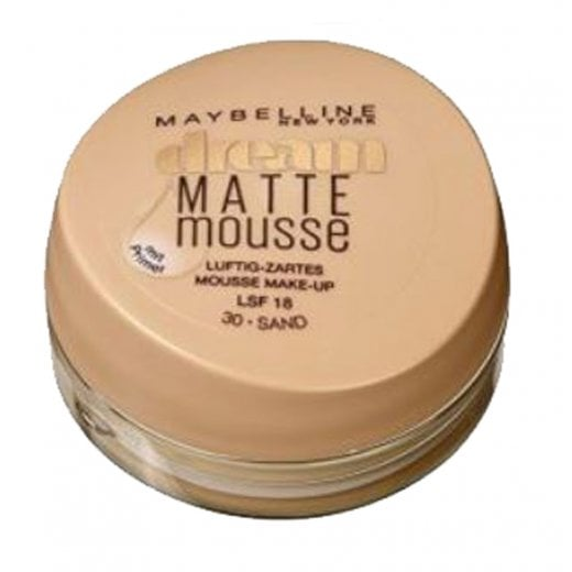 Maybelline Dream Matte Mousse Mattifying Foundation + Primer - 30 Sand