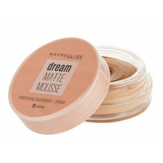 Maybelline Dream Matte Mousse Mattifying Foundation + Primer - 60 Caramel